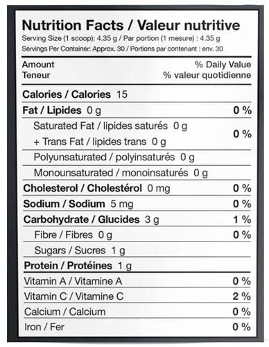integratori paleoethics surge nutrition facts