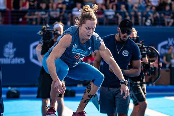 Dubai CrossFit Championship briggs box jump