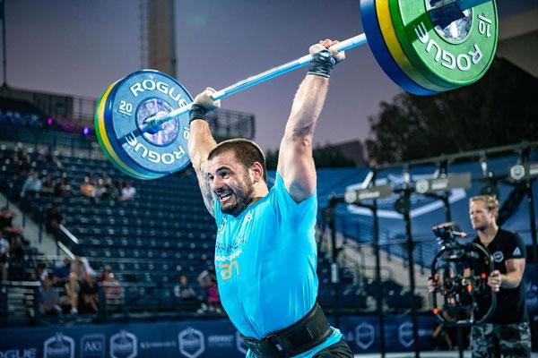 Dubai CrossFit Championship fraser barbell