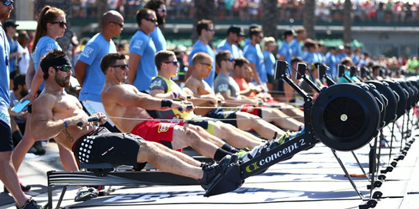 wod con il row reebok crossfit games