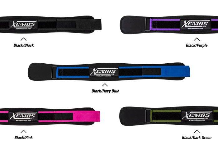 colori cintura da weightlifting ergo wod belt xenios usa