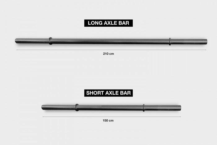 wod con axle bar xenios usa versioni bilanciere