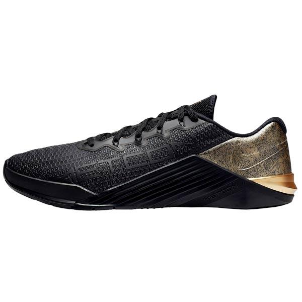 scarpe crossfit nike metcon 5 black x gold