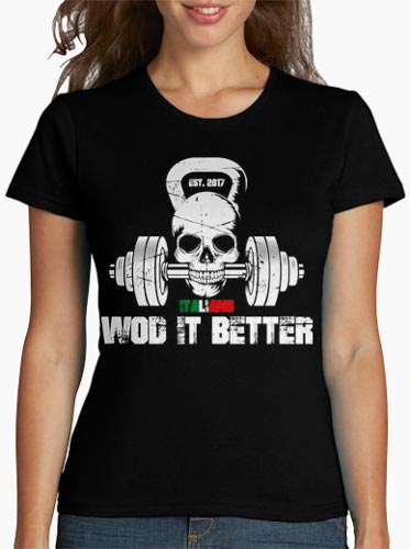 shop italians wod it better t-shirt donna italians wod it better classic