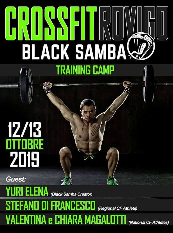 traing camp black samba