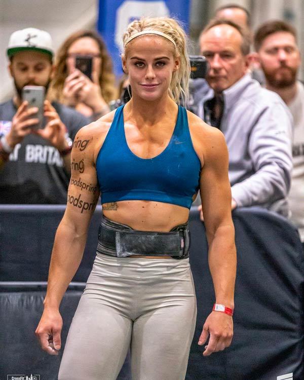 Sara-Sigmundsdottir fasi allenamento crossfit convinto