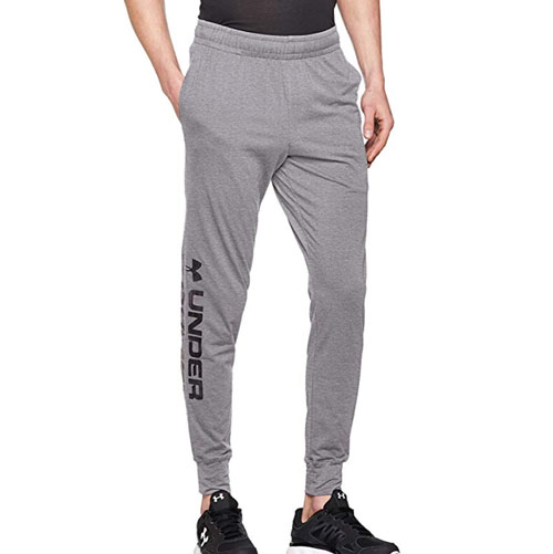 black friday crossfit pantaloni felpa UA grigia basic uomo