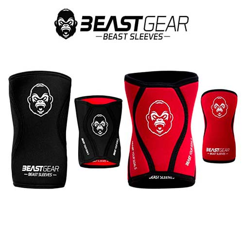 black friday crossfit ginocchiere beast gear