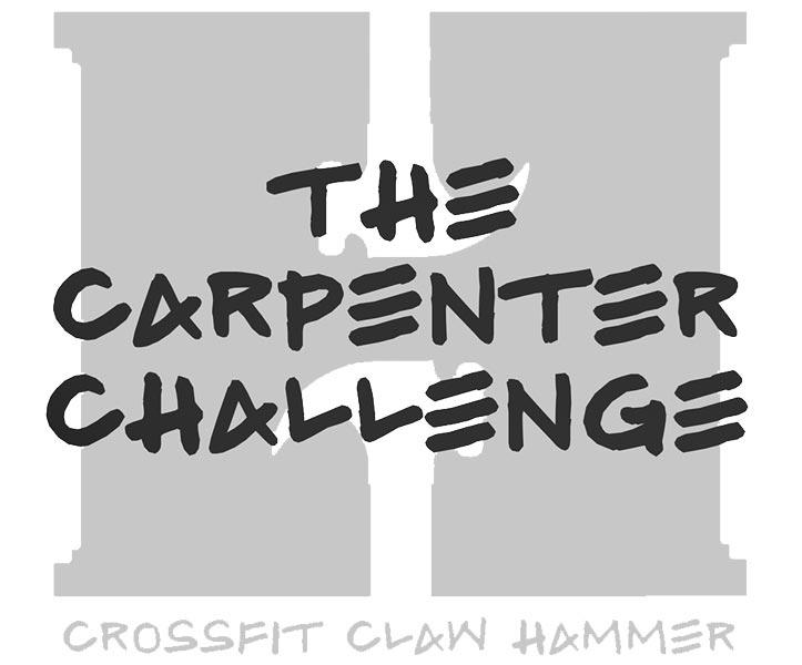 the carpenter challenge evento italians wod it better
