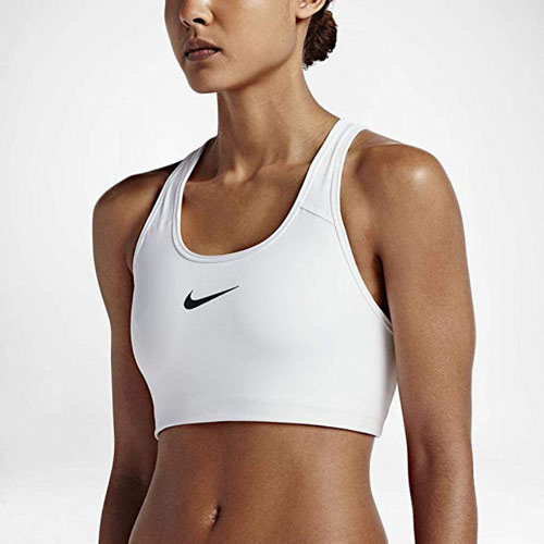 black friday crossfit reggiseno nike bianco donna