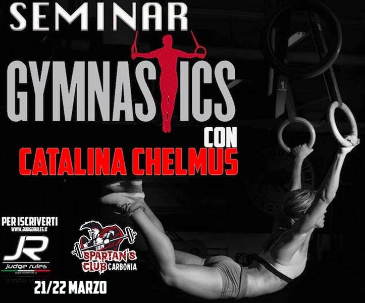 gymnastic seminar con catalina chelmus spartan's club carbonia workshop crossfit in italia 2020 blog crossfit italians wod it better