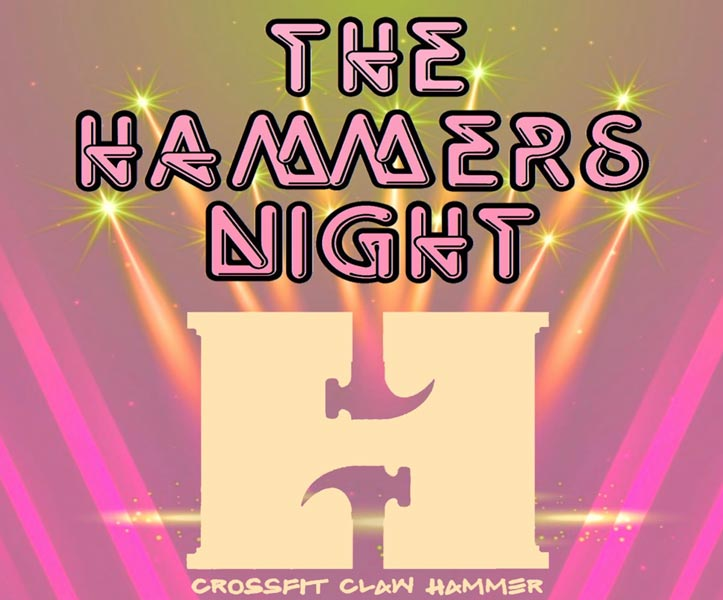 the hammers night competizione crossfit italia 2020 blog crossfit italians wod it better