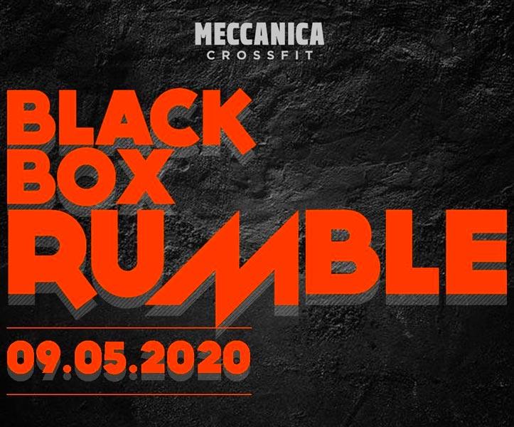 black box rumble competizione crossfit italia 2020 italians wod it better