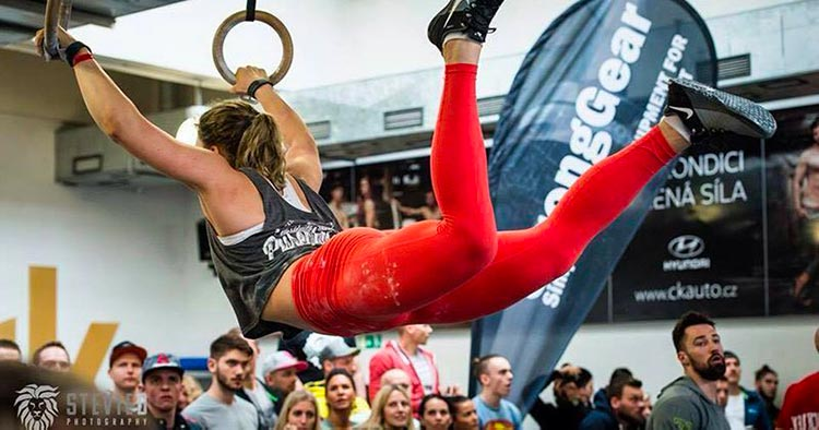 ring muscle up crossfit gymnastic