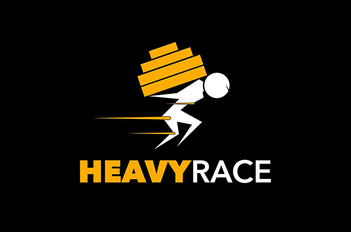 logo heavy race
