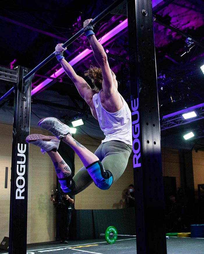 Samantha Briggs muscle up 21.3