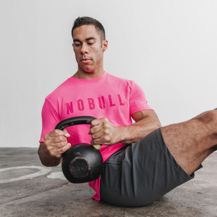 NoBull t shirt rosa