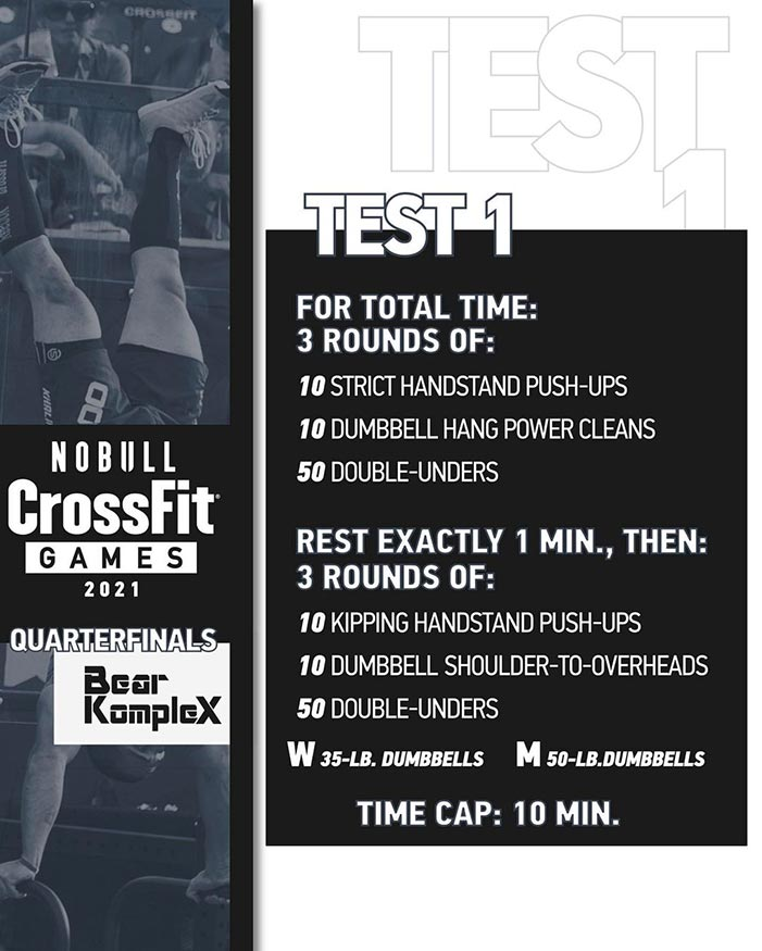 test 1 quarterfinals crossfit